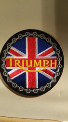 "Triumph Chain 3"" patch"