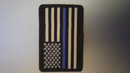 "Blue line American subdued flag 2"" x 3"""