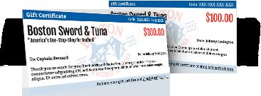 BST Gift Certificates