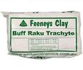 Clay - Burnt Buff Raku