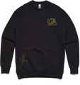 Crew Unisex Jumper - Black