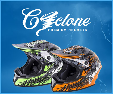 Cyclone Premium Helmets