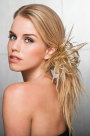 Hairdo Extension - Spiky Clip (#HDSPCL) side 1