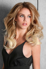 HairDo Extension - 16 Inch Sombre Extension (#HX16OM) front 1