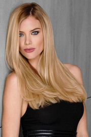 HairDo Extension - 18 Inch Remy Human Hair10 pc Extension Kit (#H1810P) front 1