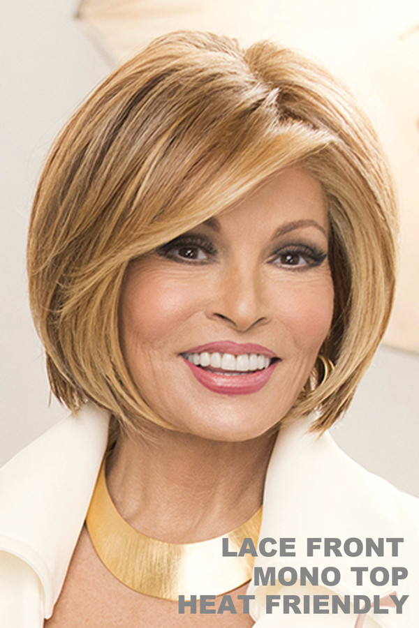 Raquel Welch Wig - Straight Up with a Twist front 1