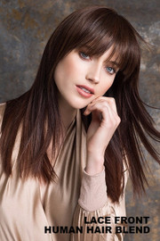 Ellen Wille Wig - True Human Hair (Bang) Front