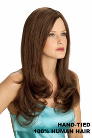 Louis Ferre Wig - NRC 002 HM 16 Human Hair Front/Side