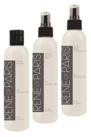 Wig Care Kit - Rene of Paris - 3 Pack Combo - Shampoo, Revive, Wig Spray