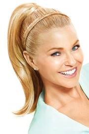 Christie Brinkley Wig - Fishtail Headband (CBFTHB) front 1