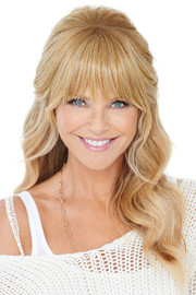Christie Brinkley Wig - Natural Fringe Clip-in Bang (CBNTFR) front 1