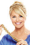 Christie Brinkley Wig - Thick Braid Headband (CBTBHB) front 2