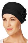 Christine Headwear - Lotus Turban Black (0211)