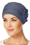 Christine Headwear - Lotus Turban Blue (0168)