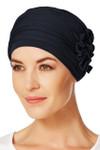 Christine Headwear - Lotus Turban Blue Melange (0391)
