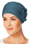 Christine Headwear - Lotus Turban Ocean Blue (0295)