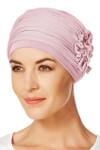 Christine Headwear - Lotus Turban Rose Melange (0320)