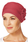 Christine Headwear - Lotus Turban Red (0361)