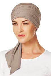Christine Headwear - Mantra Long Scarf Brown (0167)