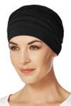 Christine Headwear - Yoga Turban Black (0211)