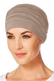 Christine Headwear - Yoga Turban Brown (0167)