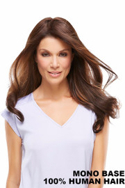 EasiHair Extension - EasiPart HH XL 18 (#735A) Exclusive Colors Front 1