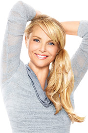 Christie Brinkley Wig - The Pony (CBCLPN) front 1