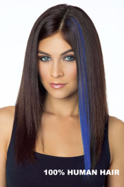 Revlon Wig - Pop of Color (#6374) Front/Blue