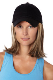 Henry Margu Wig - Classic Hat Black (#8226) Front