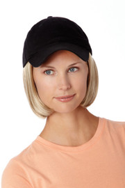 Henry Margu Wig - Shorty Hat Black (#8225)