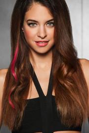 HairDo Extension - Human Hair Color Strip (#HDHHCS) front 1