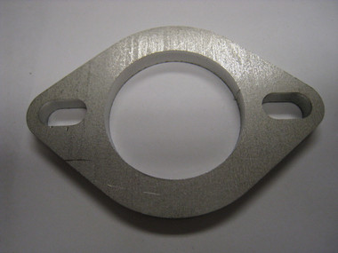 """AMS Custom 1/4""""' Stainless Exhaust Flange"""