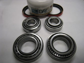 125X00X007 Rim Polished Bearing, Low Drag Seals Front Hub Kit (Includes Racing Grease)