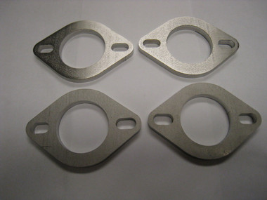 "AMS Custom 1.250"" Bore x 1/4"" Width Stainless Steel Exhaust Flange (Set Of 4)"
