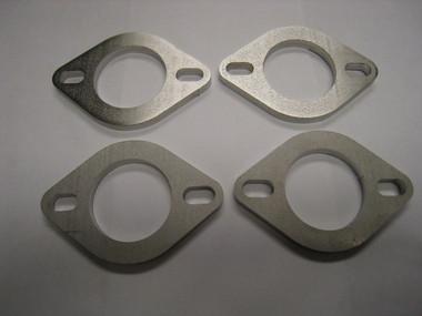"AMS Custom 1.250"" Bore x 3/16"" Width Stainless Steel Exhaust Flange (Set Of 4)"