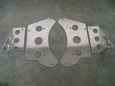 Aluminum Bracket kit for the Fluidyne Dual Pass Cooler.