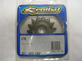Renthal Ultralite Front Sprocket 14-T 307-420-14GP, KTM65 SX 98-08, KTM60 98-00
