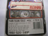 Renthal Ultralite Front Sprocket 289U-520-14GP, Kawasaki KX KLX, Yamaha YZ WR