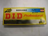 DID 520NZ Professional Racing Series Chain, Black,520NZ 120L Andrews Motorsports
