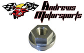 Oil Pressure Guage, Crankcase Adapter Fitting, Honda CB 750 M20x1.5 Accepts 1/8 Pipe Thread