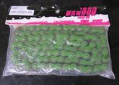 Braaap Pit Bike Chain 420DX-104-GR 420 Pitch 104 Links Green