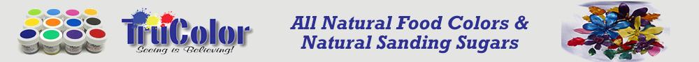 Natural sanding sugars