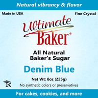 Ultimate Baker Natural Baker's Sugar Denim Blue (1x8oz Bag)