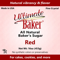 Ultimate Baker Natural Baker's Sugar Red (1x1lb)