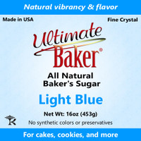 Ultimate Baker Natural Baker's Sugar Light Blue (1x1lb)