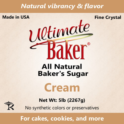 Ultimate Baker Natural Baker's Sugar Cream (1x16lb)