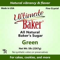 Ultimate Baker Natural Baker's Sugar Green (1x8lb)