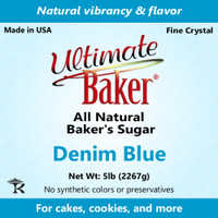 Ultimate Baker Natural Baker's Sugar Denim Blue (1x8lb)