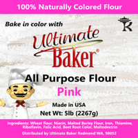 Ultimate Baker All Purpose Flour Pink (1x5lb)