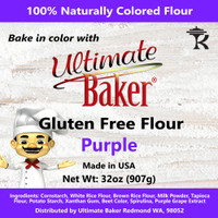Ultimate Baker Gluten Free Baking Flour Purple (1x2lb)